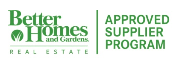 Better Homes and Gardens Approved Supplier