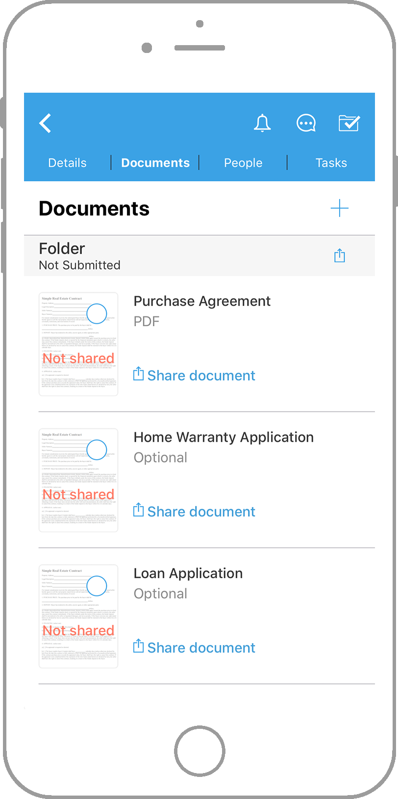 dotloop iOS App documents