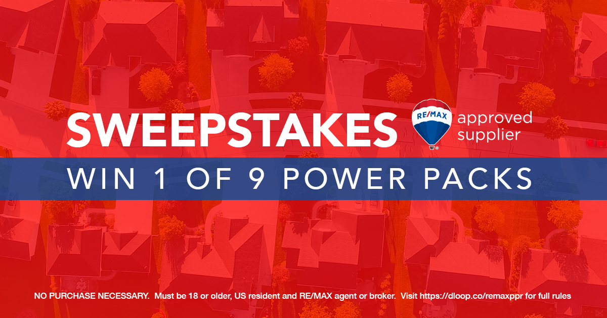 RE/MAX Growth Power Pack Sweepstakes | Dotloop